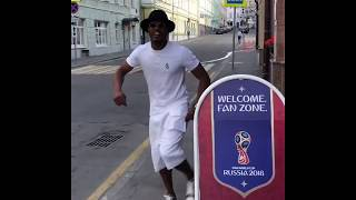 Patrice evra funny happy monday post instagram 18/06/18 in russia