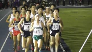 """世田谷記録会5000m15組 大澤祐介(樹徳高)14'22""""32 2017.9.30"""