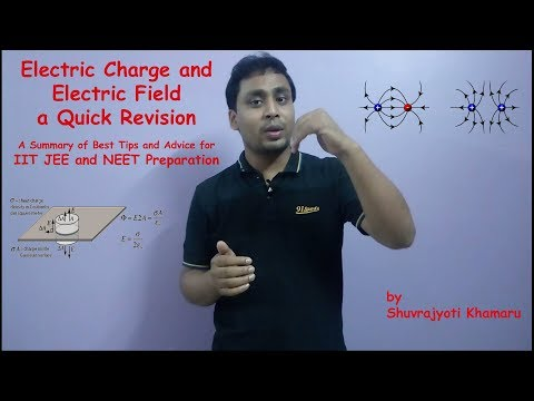 Electric Charge and Electric Field A Summary of Best Tips & Advice for IIT JEE and NEET Preparation