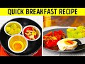 25 SIMPLE BREAKFAST RECIPES TO COOK IN 5 MINUTES    New Ways Of Cooking Eggs!