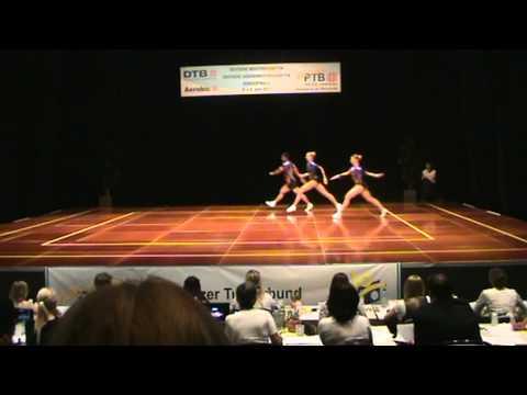 Sports Aerobics DM 2011  Janka Daubner/ Peterson Querubin/ Isabel Pipiorra