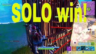 Fortnite SOLO win Nederlands (tips and tricks)