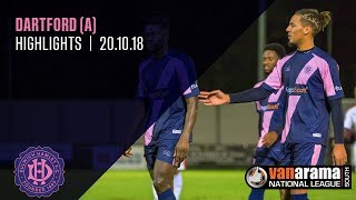Dartford v Dulwich Hamlet, National League South, 20/10/18 | Match Highlights