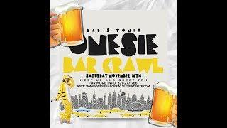 Rad & Tonio Onesie Bar Crawl