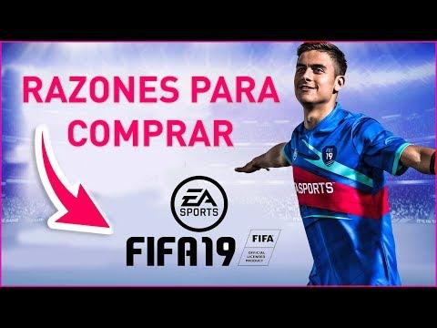 RAZONES Para COMPRAR FIFA 19 !!!