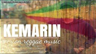 Handi Rahandika Cover #seventeen Kemarin - Version reggae Music (Lirik Music Video)