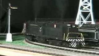 mth premier prr 2500 hp transfer o gauge diesel locomotive