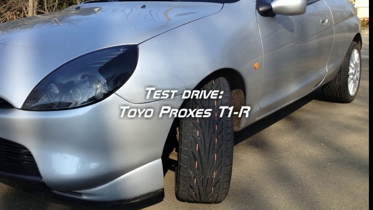 Toyo Proxes T1R >> Test Drive - Toyo Proxes T1R and Ford Puma - YouTube