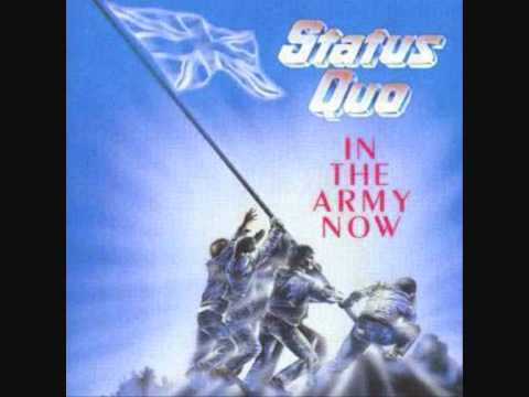 STATUS QUO  In the Army now LYRICS