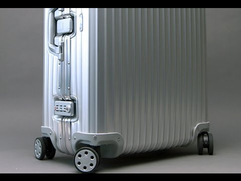 How a Rimowa Aluminium Topas case is made - BrandmadeTV