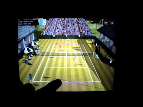 Flick Tennis Gameplay Trailer for Android