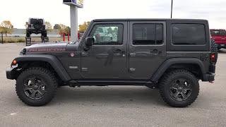 The Brand New 2018 Jeep Wrangler JK Rubicon Recon Walk Around 4wd Wisconsin www.SUMMITAUTO.com