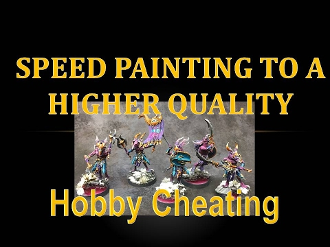 Hobby Cheating 73 - Speed Painting Tricks for Higher Quality