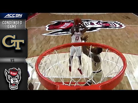 NC State Vs. Georgia Tech Condensed Game | ACC Basketball 2019-20