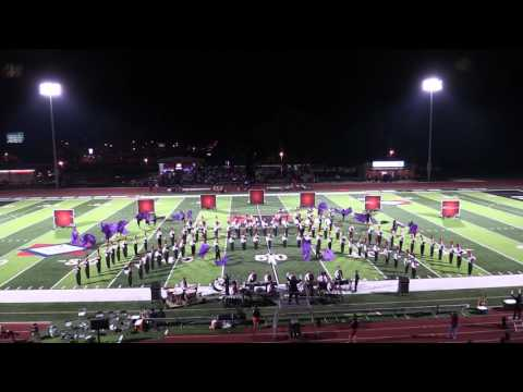 2016 Jonesboro High School Band Pine Bluff Game Halftime Performance