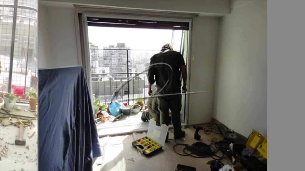 Cambio de aberturas de hierro por aberturas de aluminio for Aberturas de aluminio puerta ventana
