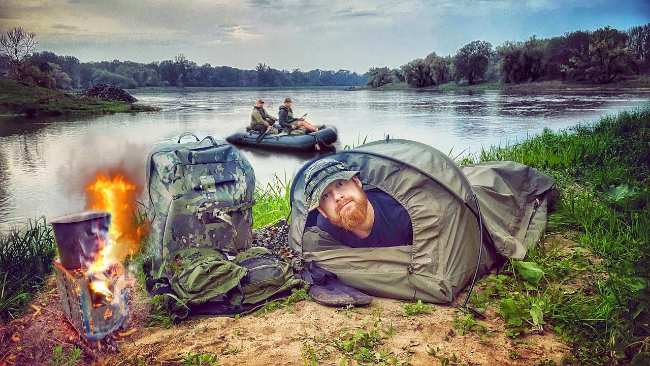 100km Schlauchboot-Tour mit Übernachtung und Militär-Ausrüstung - Alle Tage