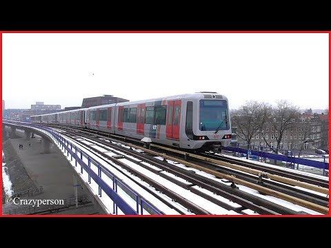 Metro Rotterdam Feb. 2017 Deel 2 - Part 2
