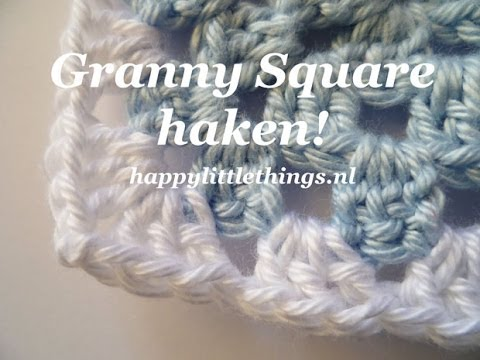 Crochet Granny Square Haken Beginners Youtube