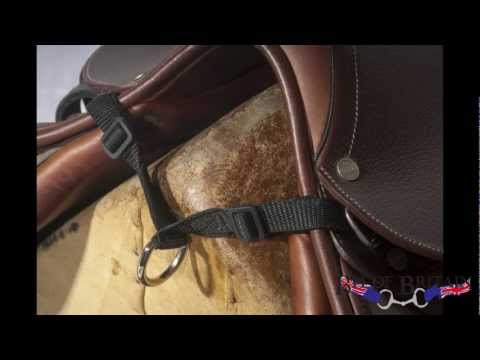 Attaching An Air Vest Saddle Strap