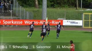 VfR Wormatia Worms vs. SV Waldhof Mannheim 07