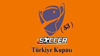 Soccer Turkey cup tournament season 3 semi final match me vs serdar