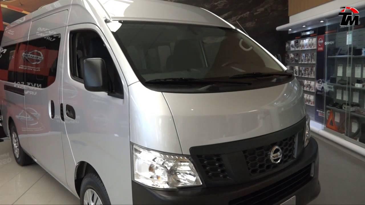 Nissan Presenta La Nueva Nv350 Urvan