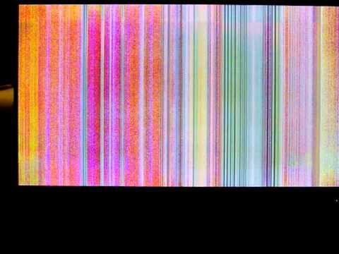 Vizio P50HDTV Display Problems - Colored Vertical Lines/Bars