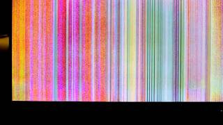 Vizio P50HDTV Display Problems - Colored Vertical Lines/Bars