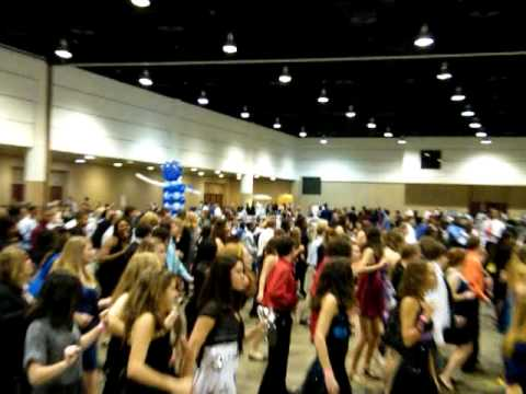 Cupid Shuffle at New Years Eve Party 2010 Prime Osborne Convention Center Jacksonville, FL