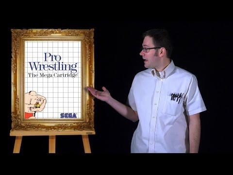 AVGN: Bad Game Cover Art #1 - Pro Wrestling (Sega Master System)