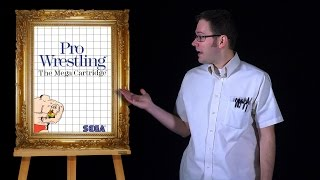 AVGN: Bad Game Cover Art #1 - Pro Wrestling (Sega Master System)
