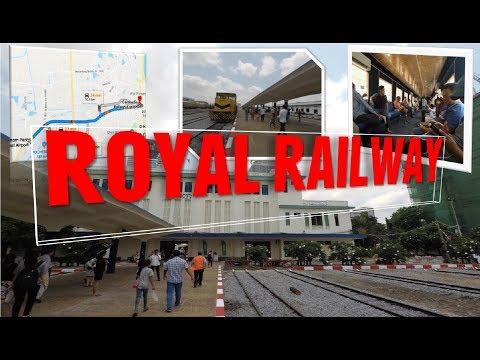 Cambodian Royal Railway Station To Airport-Street View | ពីស្ថានីយរថភ្លើងទៅព្រលានយន្តហោះភ្នំពេញ
