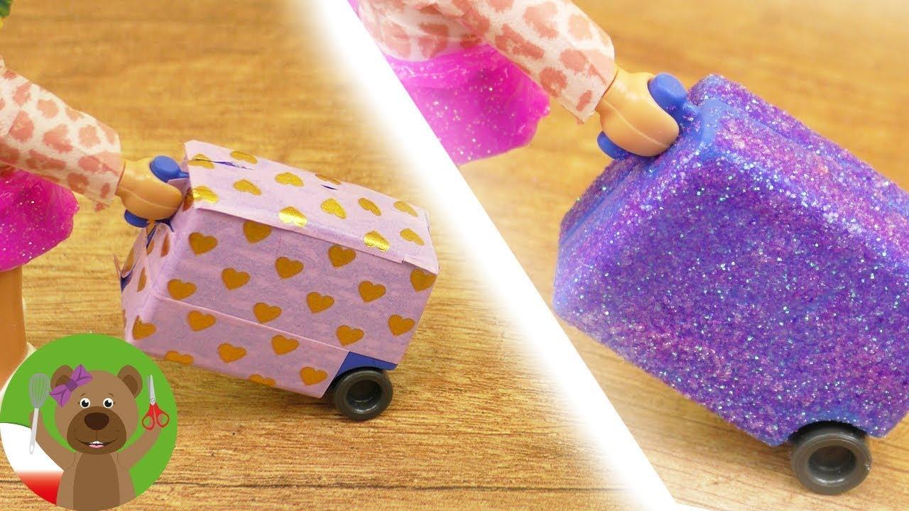 DIY Playmobil   ozdabiamy walizkę Stelli   prosty pomysł na nowy look   DIY Kids