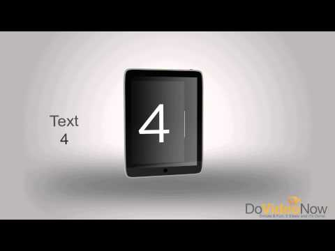 Tablet Video Intro