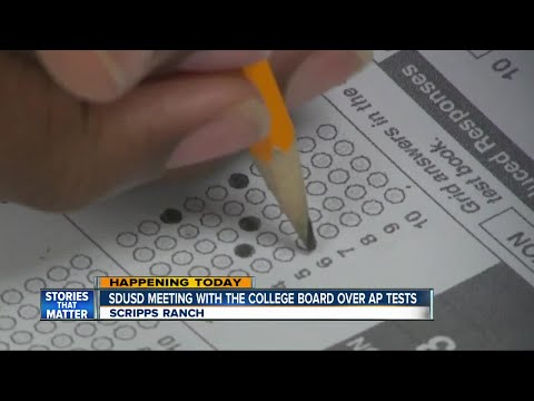 Report Of Student Cheating On AP Test