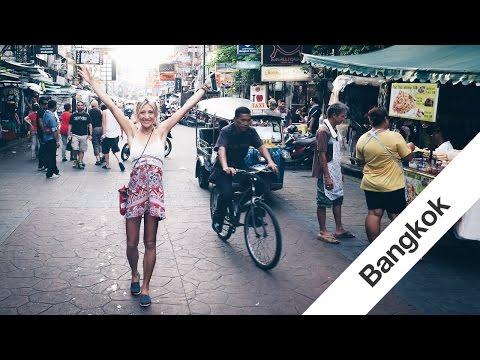 Travel Thailand Vlog - Chiang Mai to Khao San Road Bangkok