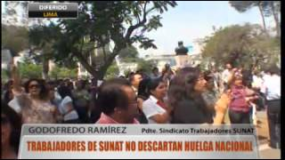 PLANTONES SINAUT SUNAT 20-04-2012 : Reportaje en WILLAX TV