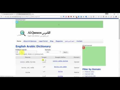 Al Qamoos English Arabic Dictionary Features (1)
