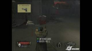 The Punisher (2005) PlayStation 2 Gameplay_2004_08_17