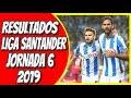 Tabla de Posiciones y Resultados LaLiga Santander 2019 Jornada 6 #España #Madrid