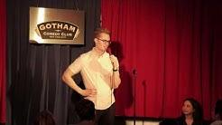Headlining Gotham Comedy Club's Vintage Lounge