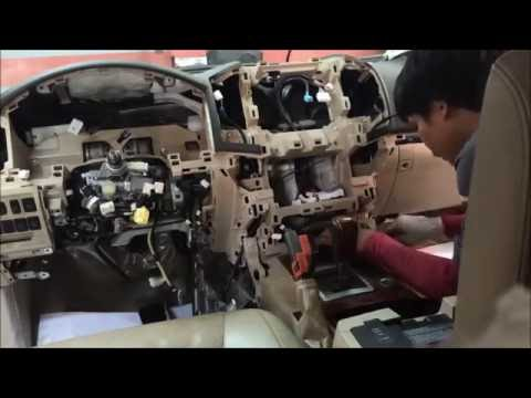 Land Cruiser Replacing Dashboard And Airbags Youtube