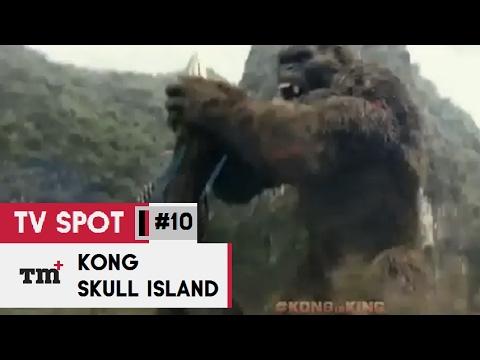 KONG  SKULL ISLAND #10 TV Spot - Encounter 2017 - Tom Hiddleston Monster Action Movie HD