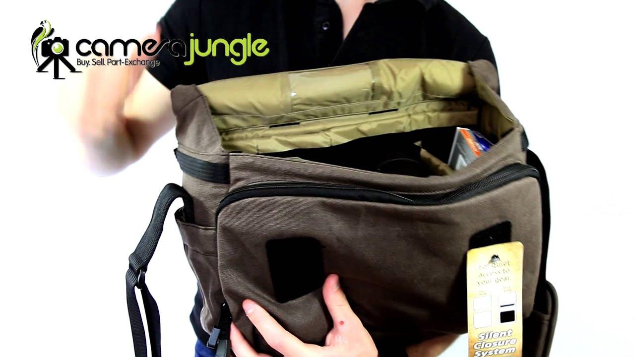 Camera Jungle Presents Tamrac Apache Messenger Bags