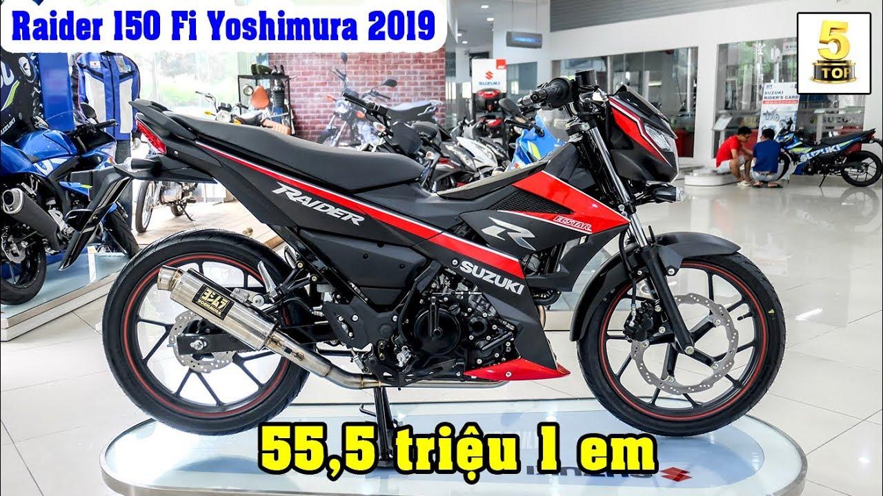 Suzuki Raider R150 FI 2019 Yoshimura ▶️ Giới thiệu Suzuki Raider 2019 Yoshimura mới 🔴 TOP 5 ĐAM MÊ