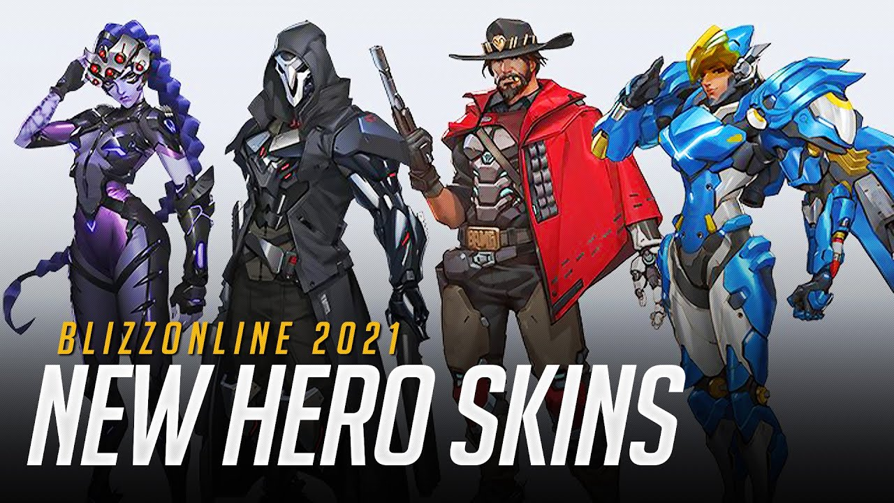 New Overwatch 2 designs for Reaper, McCree, Pharah, and ...