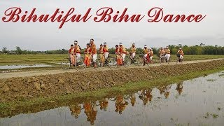 Beautiful Bihu- Incredible India- Awesome Assam- Dance at Guwahati Airport. Assam Tourism