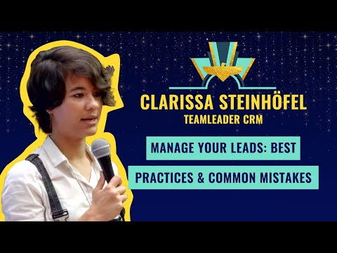 """Manage your leads: best practices & common mistakes"" by Clarissa Steinhöfel - Teamleader CRM"