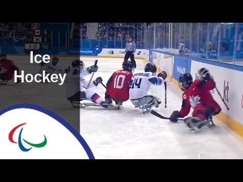 Canada v South Korea | Semi-final | Ice hockey | PyeongChang2018 Paralympic Winter Games